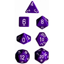 Purple Opaque Dice