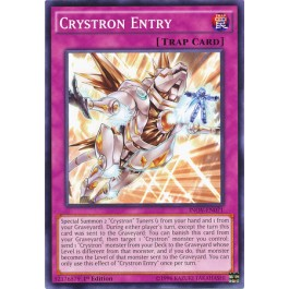 Crystron Entry