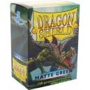 Protectores Verde Matte (100 Und) (Dragon Shield) (Standard)