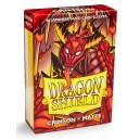 Protectores Rojos Matte (60 Und) (DragonShield) (Small)