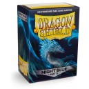 Protectores Night Blue Matte (100 Und) (Dragon Shield) (Standard)