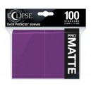 Protectores Eclipse Matte Royal Purple (100 Und) (Standard)