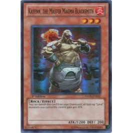 Kayenn, the Master Magma Blacksmith
