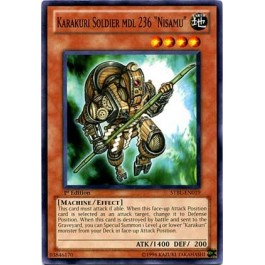 """Karakuri Soldier mdl 236 """"Nisamu"""""""