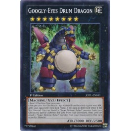 Googly-Eyes Drum Dragon