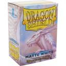Protectores Blancos Matte (100 Und) (Dragon Shield) (Standard)