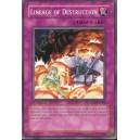 Lineage of Destruction