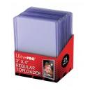Clear Regular Toploader 3''x4'' (Ultra-Pro) (25Und)