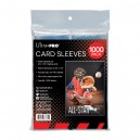 """Clear Card Sleeves for Standard Size - 2.5"""" x 3.5"""" (1000und)"""