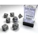 Dark Grey/Black Opaque Dice (Chessex)